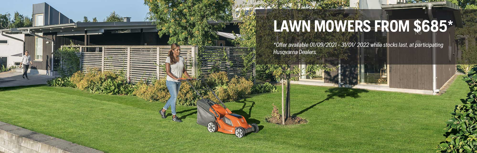 Lawn Mower - Spring